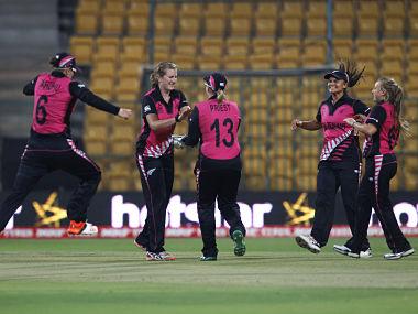 New Zealand WOmen's Cricket team. AP