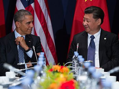 File photo of US President Barack Obama and Chinese President Xi Jinping. AP