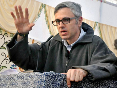 A file photo of Omar Abdullah. PTI
