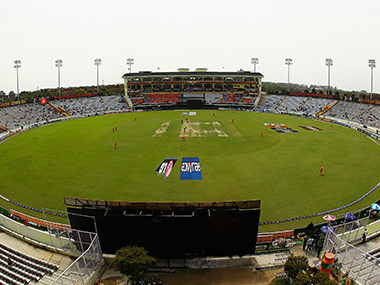 General view of the PCA Stadium in Mohali. Getty Images