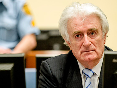 UN war crimes court finds Radovan Karadzic guilty of genocide sentences him to 40 years in prison