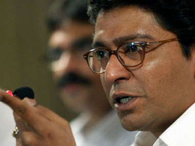 MNS chief Raj Thackeray. AFP