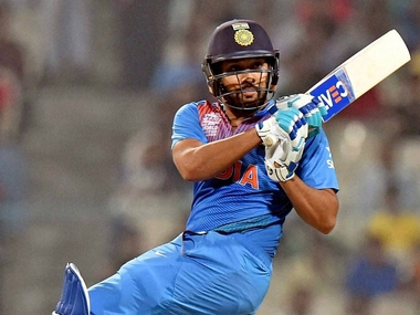 File picture of Rohit Sharma. PTI