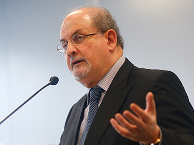 Salman Rushdie. Reuters