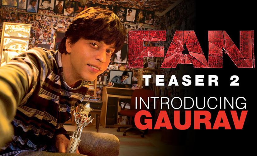 Shah Rukh Khan in 'Fan'. Screen grab from YouTube
