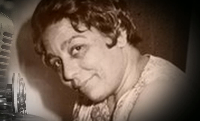 Shamshad Begum was among the later stars whose gramophone records proved to be popular. Screen grab from YouTube