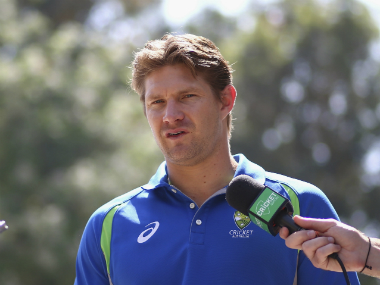 File photo of Shane Watson. Getty Images