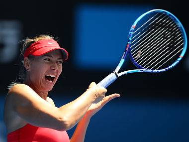 File photo of Maria Sharapova. Getty Images