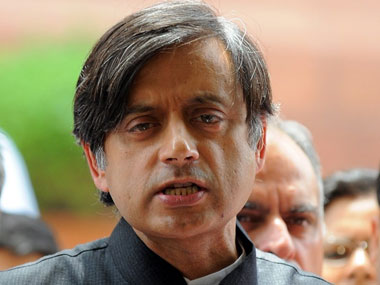 Shashi Tharoor asserts he is against parliamentary disruptions says he has been told it is part of our culture