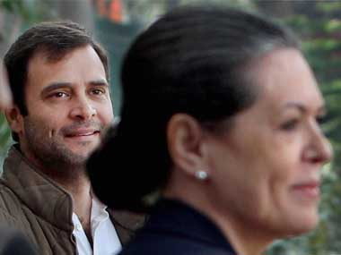 File image of Sonia and Rahul Gandhi. Indian politics is plagued with dynasties like Congress. PTI