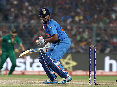 World T20 Time for Raina to step up against Bangladesh and repay the faith that Dhoni has placed in him