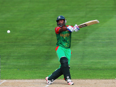 Bangladesh's Tamim Iqbal top-scored for his side with a knock of 47 off 22 balls. Getty Images