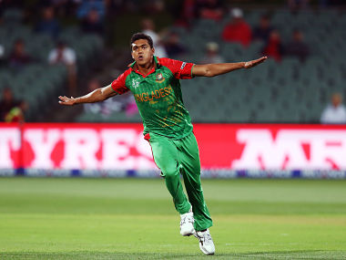 File picture of Taskin Ahmed. Getty