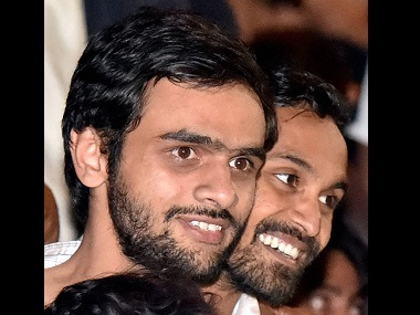 JNU row: Disciplinary action against Umar and Anirban put on hold by Delhi HC