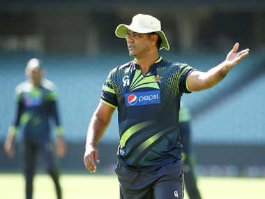 Pakistan coach Waquar Younis. Getty