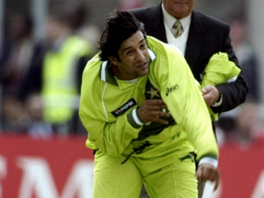 File photo of Pakistan pace legend Wasim Akram.