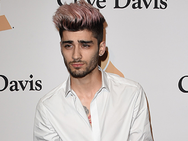 Zayn Malik. Image from AFP