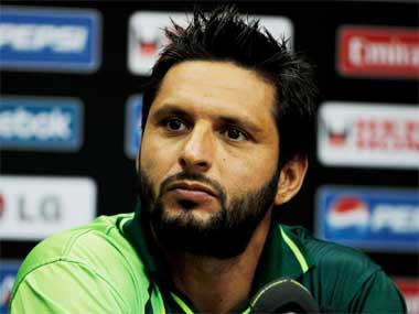 File photo of Pakistan skipper Shahid Afridi. Getty Images