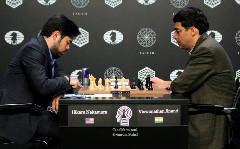 Candidates Chess Its the curse of the black again as Anand loses to a wellprepared Nakamura
