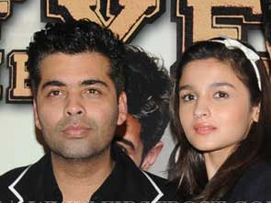 After Kapoor And Sons Karan Johar says hes proud of protge Alia Bhat