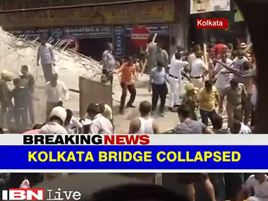 Live Rahul Gandhi likely to visit Kolkata flyover accident site tomorrow death toll rises to 24