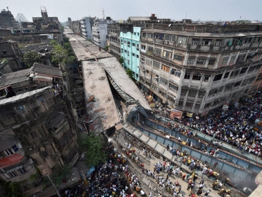 Kolkata flyover collapse Two KMDA officials arrested in connection with tragedy