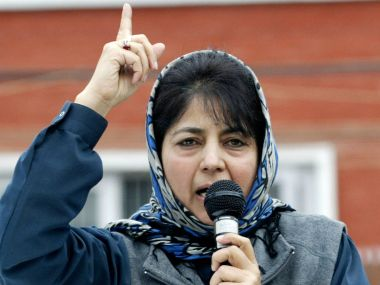 Jammu and Kashmir Mehbooba Mufti to take oath as chief minister on 4 April