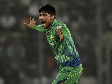 Mohammad Amir. AFP