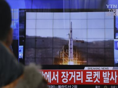 North Korea test fires two powerful midrange missiles in violation of UN resolutions
