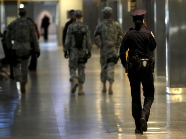 Security beefed up in New York/ Reuters