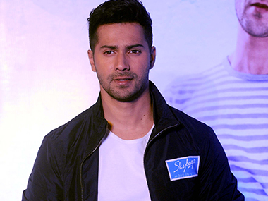 Varun Dhawan. Photo by Sachin Gokhale