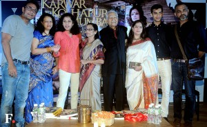 Ajinkya Deo with wife, Seema Deo, Ramesh Deo and Smita with husband Abhinay Sachin Gokhale/Firstpost