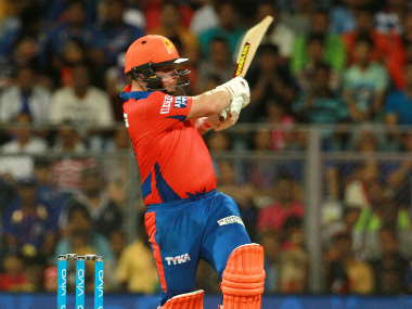 Aaron Finch was instrumental in guiding Gujarat Lions to victory with his unbeaten 67. Sportzpics