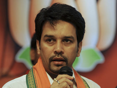 A committee headed by Anurag Thakur will select medal prospects. File image. AFP