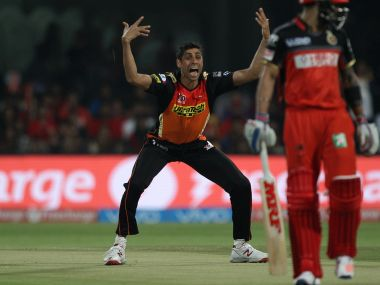Ashish Nehra in the match Royal Challengers Bangalore. Image Credit: BCCI