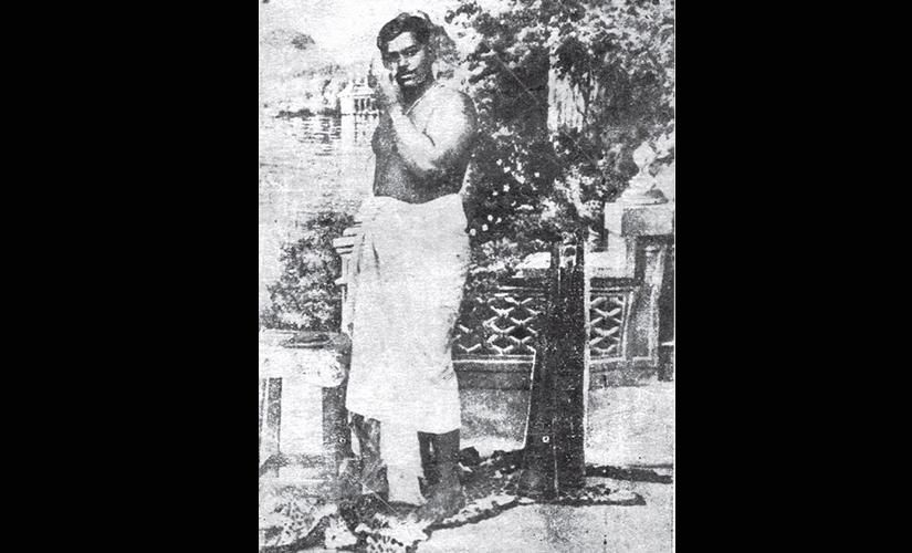 Chandra Shekhar Azad. Image from 'A Revolutionary History of Interwar India'