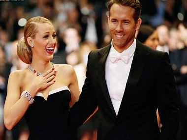 Blake Lively with RYan Reynolds. Image from IBNLive