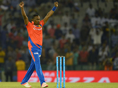 Dwayne Bravo was on song against Kings XI Punjab on Tuesday. AFP