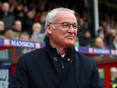 Leicester City manager Claudio Ranieri. Getty