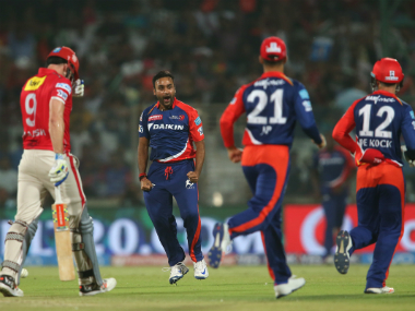 Amit Mishra took 4 wickets against Kings XI Punjab. BCCI