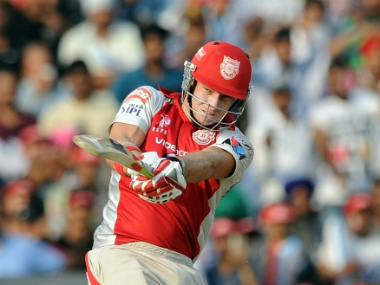 File photo of Kings XI Punjab captain David Miller. AFP