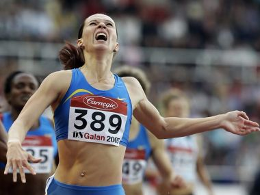 File photo of Russian runner Tatyana Andrianova, who is one of the banned athletes.
