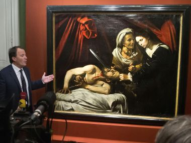 A 400-year-old painting that might have been executed by Italian master Caravaggio and could be worth more than 100 million euros has been found in an attic in Southern France. AP
