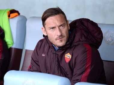 Francesco Totti. Getty