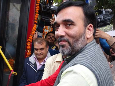 As phase 2 of Delhi oddeven policy kicks in Gopal Rai takes the bus terms response positive