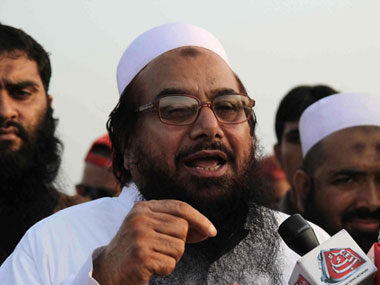 A file photo of Hafiz Saeed. AFP