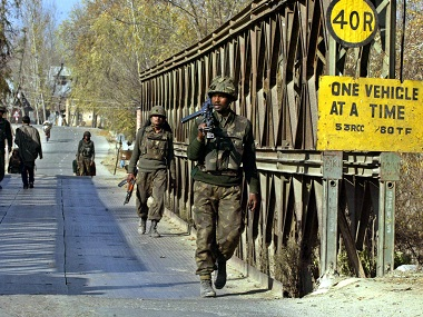 Grenade blast injures 8 soldiers including army major in Jammu and Kashmirs Handwara accidental explosion say police