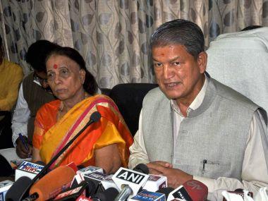 Deposed Uttarakhand CM Harish Rawat. PTI