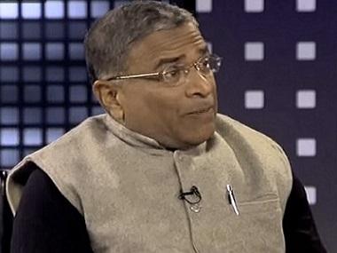 JDU MP Harivansh. Screengrab from YouTube
