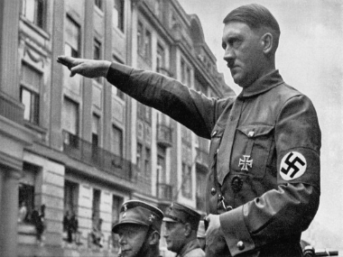 Adolf Hitler. Getty Images
